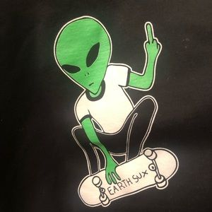 MoonRiver Collective Alien Earth Sux Crewneck